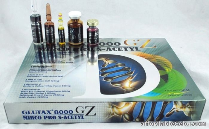 1st picture of Glutax 8000 GZ Micro Pro S-Acetyl For Sale in Cebu, Philippines