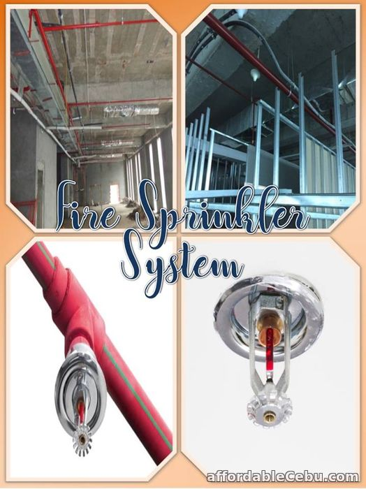 1st picture of Fire Sprinkler Water System Offer in Cebu, Philippines