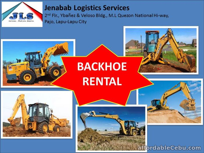 1st picture of Backhoe for hire in Cebu For Rent in Cebu, Philippines