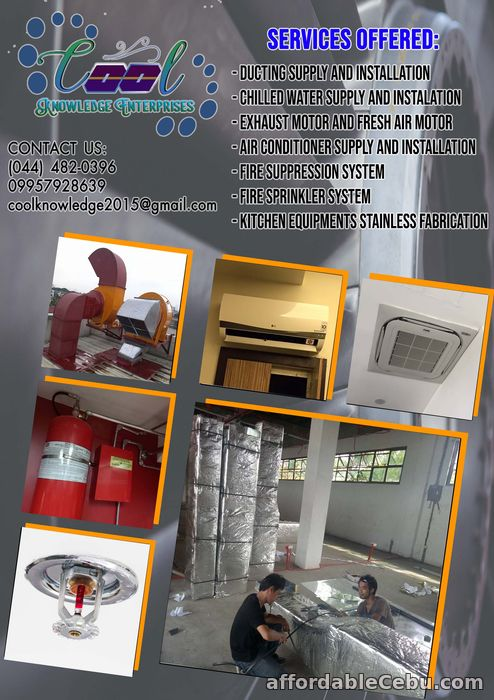 1st picture of exhaust motor and fresh air supply and installation Offer in Cebu, Philippines