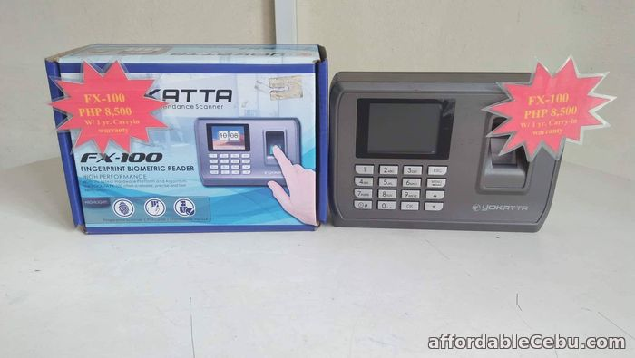 1st picture of FX-100  Biometric Cebu Supplier Time and Attendance Recorder. For Sale in Cebu, Philippines