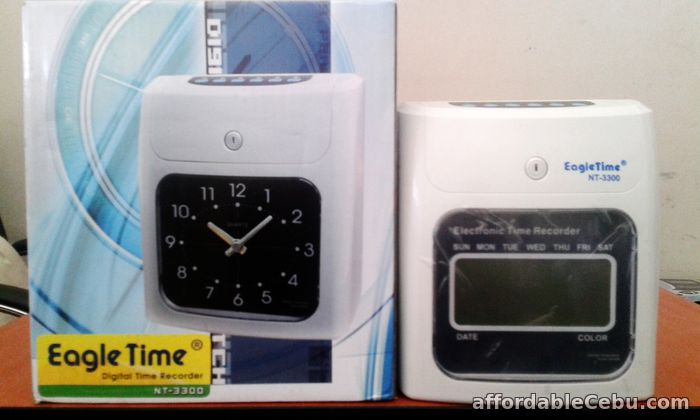 1st picture of Bundy Clock Attendance Clock Time For Sale in Cebu, Philippines