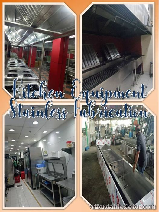 1st picture of Kitchen Equipment Stainless Fabrication Offer in Cebu, Philippines