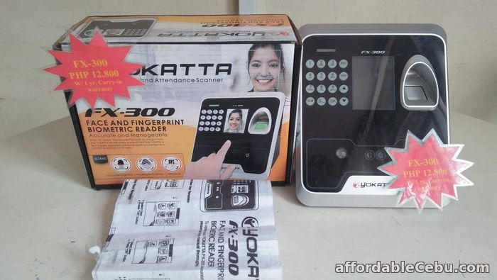 1st picture of FX-300 Biometric Cebu Supplier Time and Attendance Recorder. For Sale in Cebu, Philippines