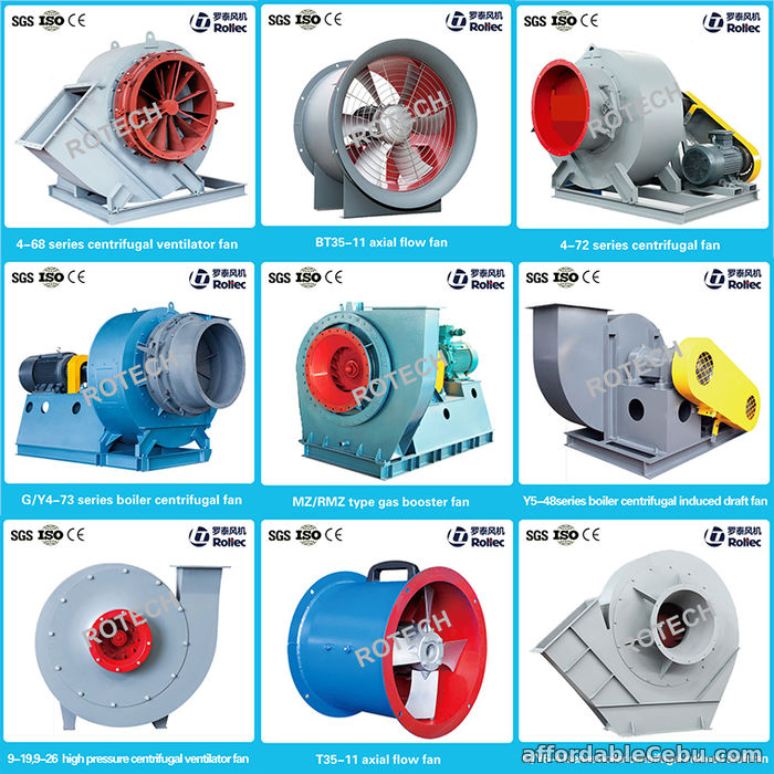 2nd picture of Centrifugal Fan and Tube Axial motor Installation Offer in Cebu, Philippines