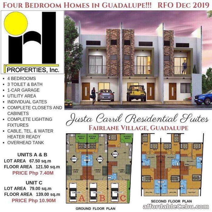 1st picture of House and lot for sale in Guadalupe Cebu For Sale in Cebu, Philippines