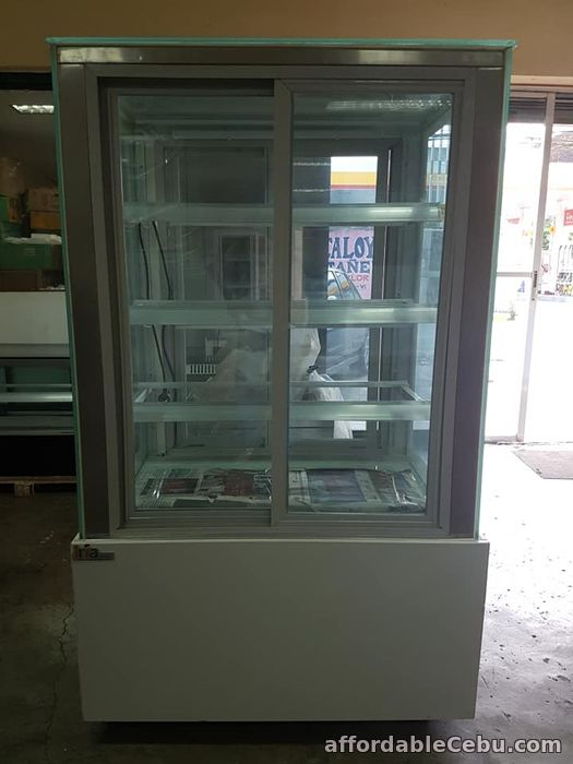 1st picture of 3ft 4layers White Base Front and Back Opening Japanese Style Cake Chiller For Sale in Cebu, Philippines