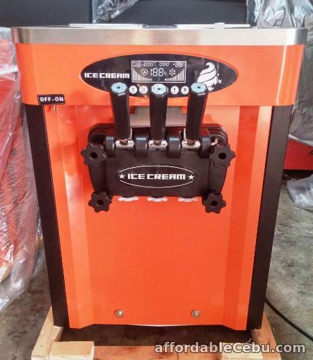 1st picture of Soft Ice Cream Machine (LATEST MODEL) 3 nozzles For Sale in Cebu, Philippines