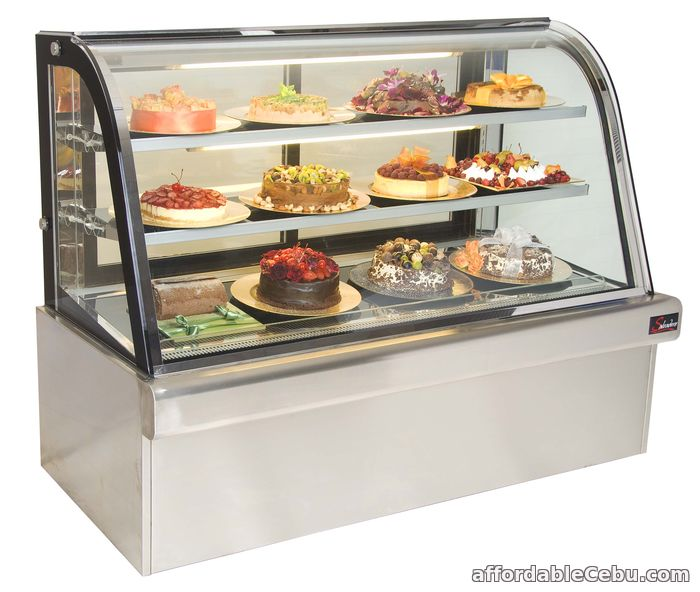 2nd picture of Cake Chiller 5ft. Curved Glass (Brand New) For Sale in Cebu, Philippines
