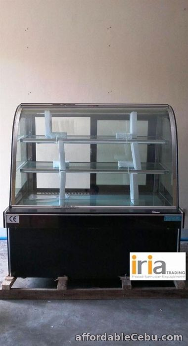 1st picture of Cake Chiller 5ft. Curved Glass (Brand New) For Sale in Cebu, Philippines