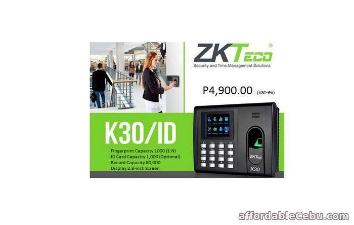 1st picture of ZKTECO K30 FINGERPRINGT For Sale in Cebu, Philippines