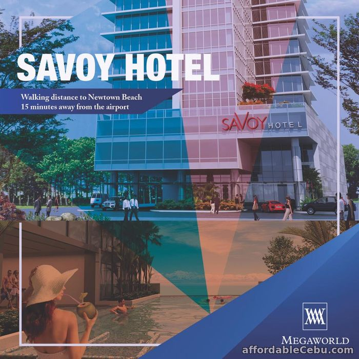 2nd picture of Condotel for investment at Savoy Hotel at The Mactan Newtown For Sale in Cebu, Philippines