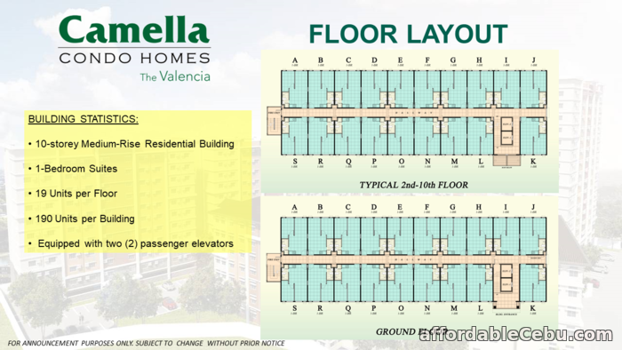 3rd picture of Affordable Vertical living walk up condo for sale at Camella Condo Homes Mactan For Sale in Cebu, Philippines