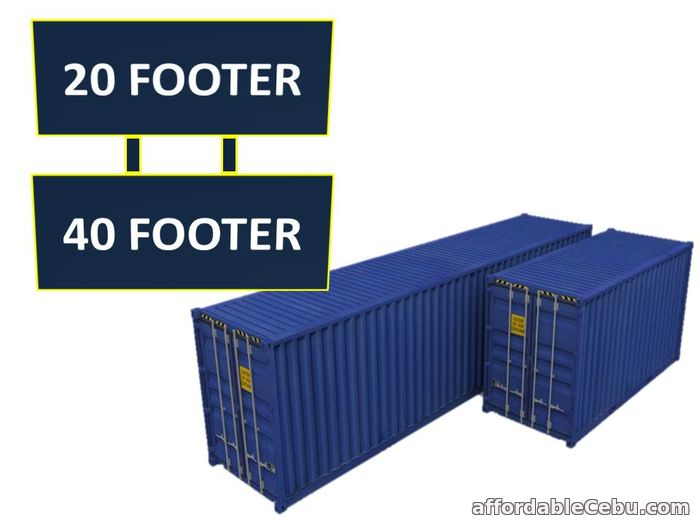 1st picture of FAST RELEASE CONTAINER VANS For Sale in Cebu, Philippines
