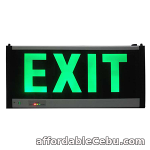 1st picture of Emergency Exit Sign For Sale in Cebu, Philippines