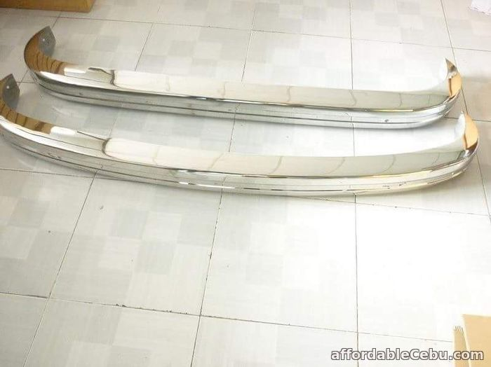 1st picture of 1972 VW Karmann Ghia bumper For Sale in Cebu, Philippines