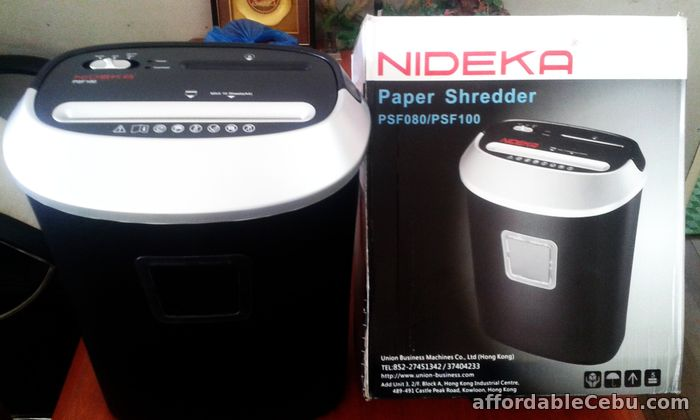 1st picture of Heavy Duty Cross Cut Paper Shredder For Sale in Cebu, Philippines