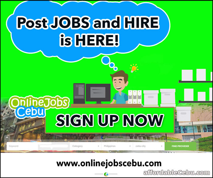 1st picture of Post jobs and hire is here! Announcement in Cebu, Philippines