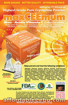 3rd picture of Vitamins C Announcement in Cebu, Philippines