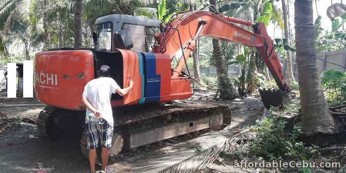 4th picture of Backhoe 0.60 Cubic Bucket Hitachi EX120-3 with Breaker Line For Sale in Cebu, Philippines