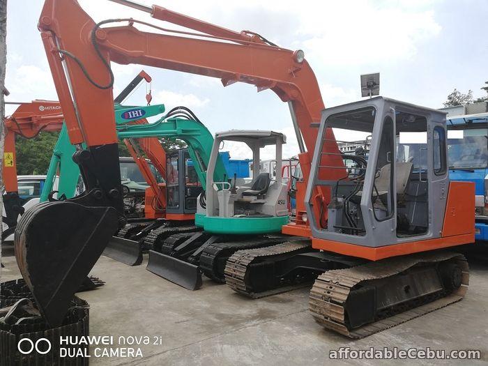 1st picture of Backhoe Excavator Hitachi EX60 Surplus For Sale in Cebu, Philippines