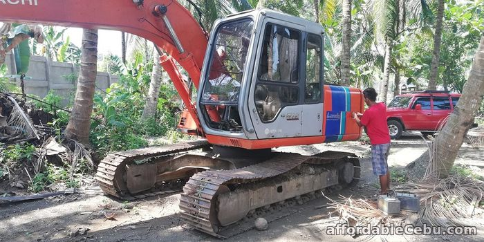 2nd picture of Backhoe 0.60 Cubic Bucket Hitachi EX120-3 with Breaker Line For Sale in Cebu, Philippines