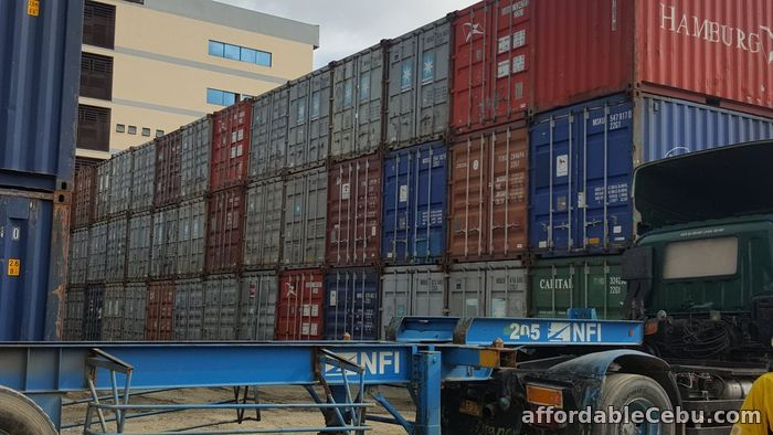 1st picture of Cargo Empty Shipping Container 20'ft For Sale in Cebu, Philippines
