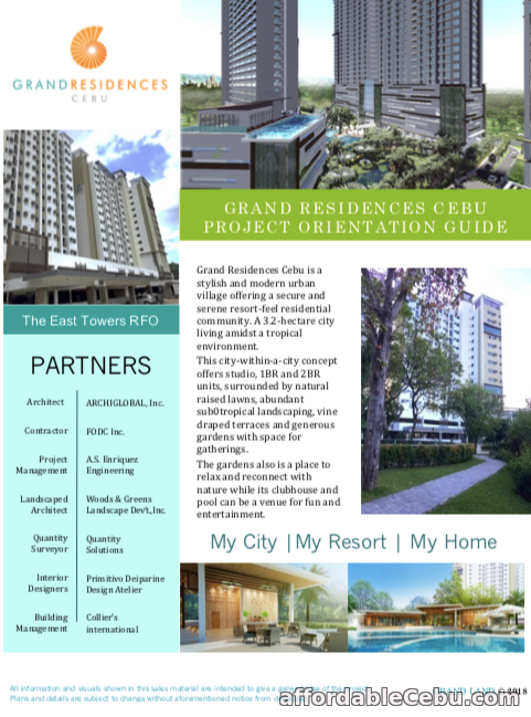 3rd picture of Grand Living like Paradise Condo in Cebu City For Sale in Cebu, Philippines