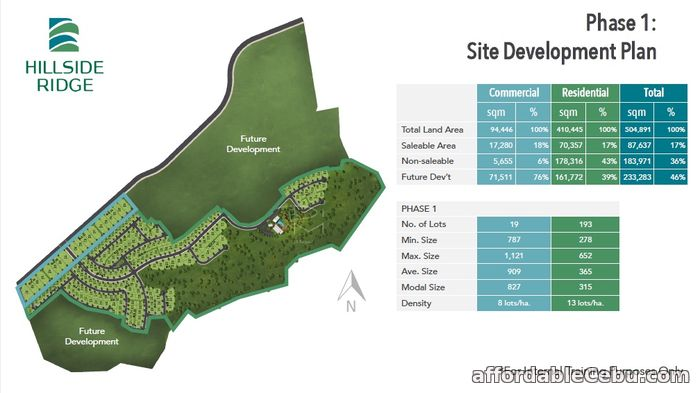 4th picture of Hillside Ridge Commercial Lot For Sale in Cebu, Philippines