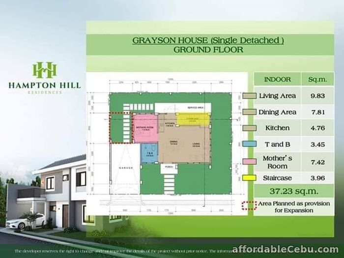 5th picture of House and lot for sale in Consolacion For Sale in Cebu, Philippines
