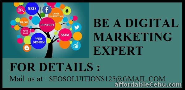 1st picture of A complete Digital Marketing Course Offer in Cebu, Philippines