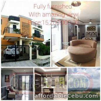 1st picture of fully furnished 2story house and lot kocated at vusta grande pardo,cebu city Wanted to Buy in Cebu, Philippines