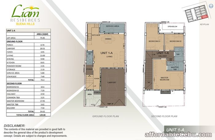 3rd picture of Unit 2C Townhouse Fore Sale in Guadalupe, Ceebu City For Sale in Cebu, Philippines