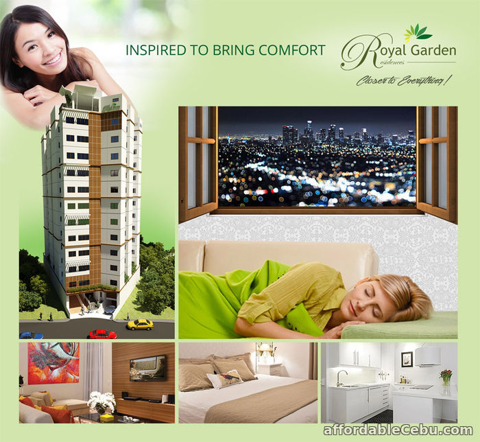 1st picture of Condo Units For Sale at Royal Garden Residences in Mabolo, Cebu City For Sale in Cebu, Philippines