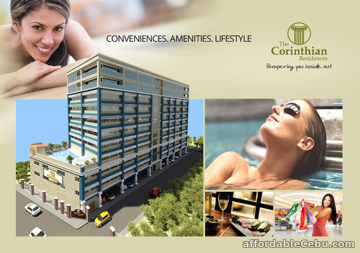 1st picture of Studio Unit For Sale at The Corinthian Residences in Cebu City For Sale in Cebu, Philippines