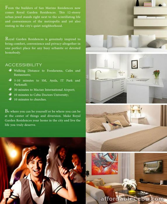2nd picture of Condo Units For Sale at Royal Garden Residences in Mabolo, Cebu City For Sale in Cebu, Philippines