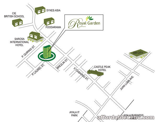 3rd picture of Condo Units For Sale at Royal Garden Residences in Mabolo, Cebu City For Sale in Cebu, Philippines