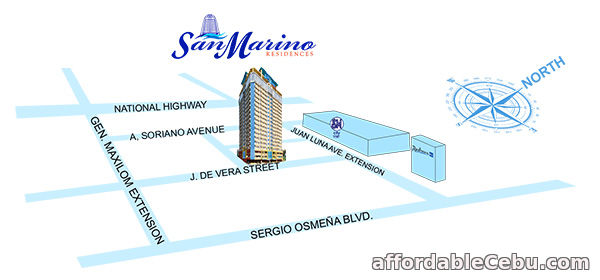 4th picture of Studio Unit For Sale at San Marino Residences in Cebu City For Sale in Cebu, Philippines
