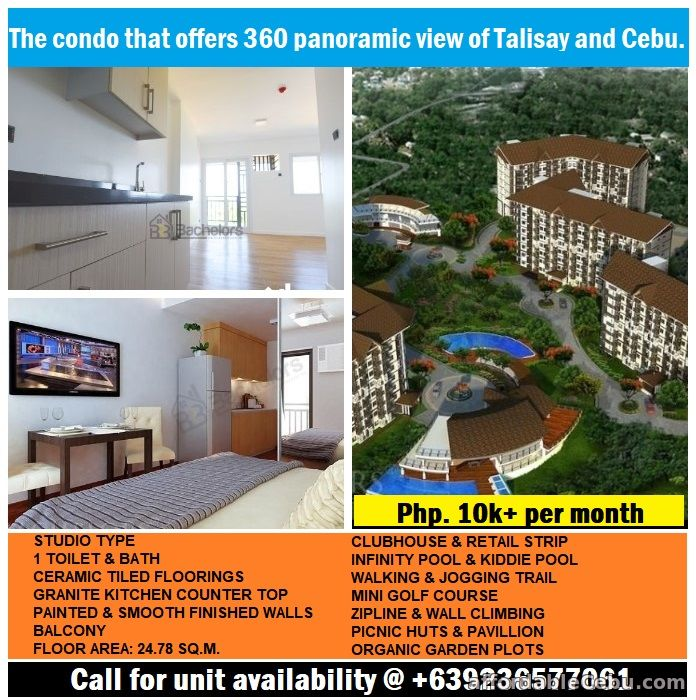 1st picture of Antara Residential Condo offers 360 panoramic view of Talisay and Cebu. For Sale in Cebu, Philippines