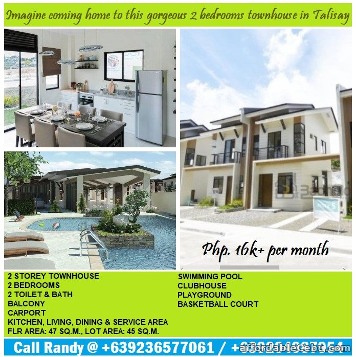 1st picture of Modern and elegant design urban homes in Cebu For Sale in Cebu, Philippines