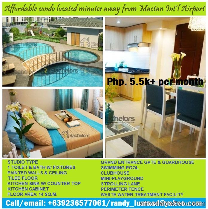 1st picture of Check this affordable studio unit near Mactan Int'l Airport For Sale in Cebu, Philippines