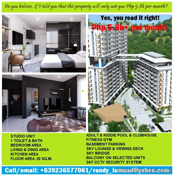 1st picture of Cebu City Condo for Php 5,800 per month? Are you kidding? For Sale in Cebu, Philippines