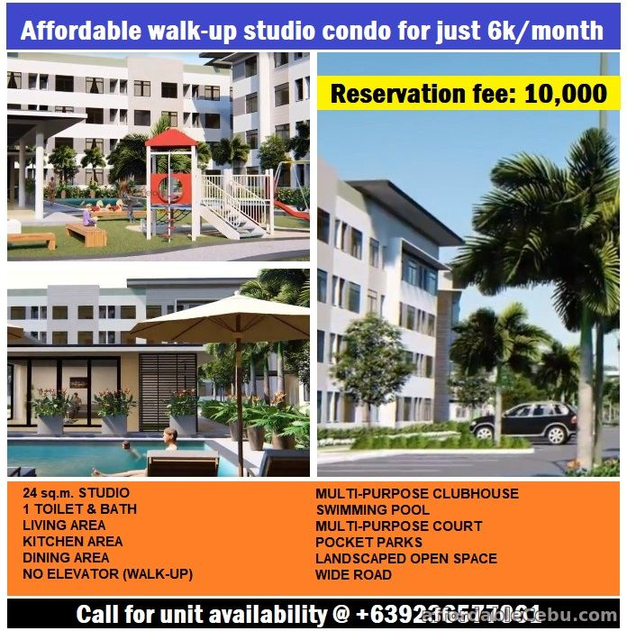 1st picture of Grab this opportunity to own an on-going development condo in Lapulapu Cebu. For Sale in Cebu, Philippines