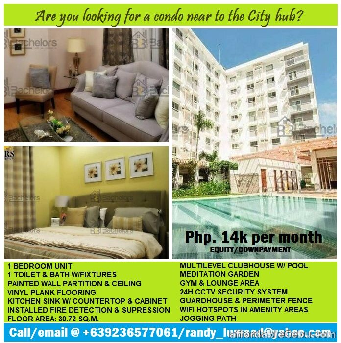1st picture of Rental business opportunity, 1 BR Condo located in the heart of Cebu business center. For Sale in Cebu, Philippines