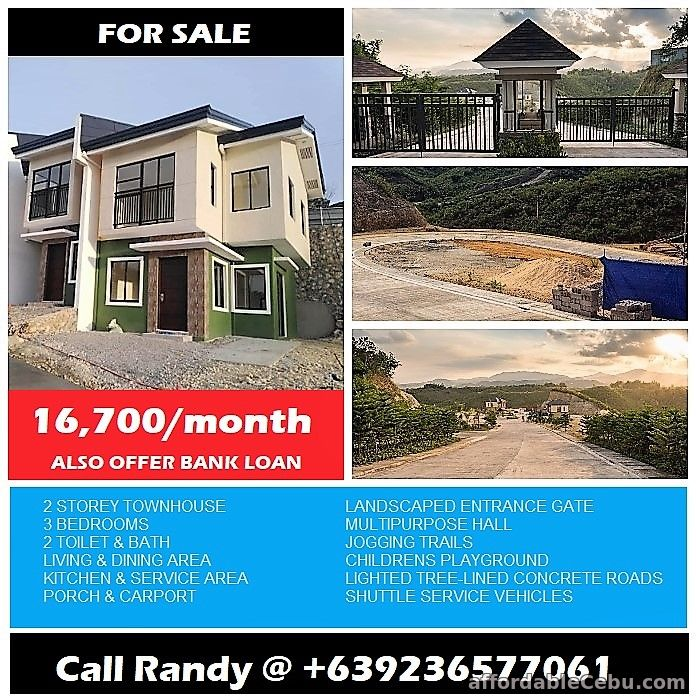 1st picture of For sale 3 Bedrooms townhouse in Consolacion for 16.7k+ per month. For Sale in Cebu, Philippines