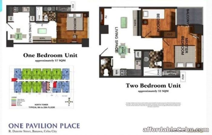3rd picture of Condo Units for Sale at One Pavilion Place in Cebu City For Sale in Cebu, Philippines