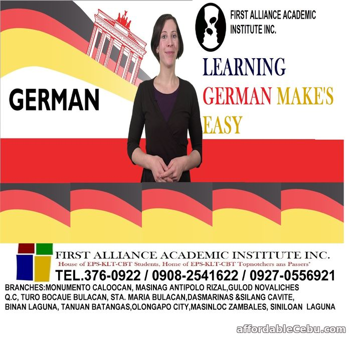 1st picture of LET'S LEARN GERMAN LANGUAGE Announcement in Cebu, Philippines