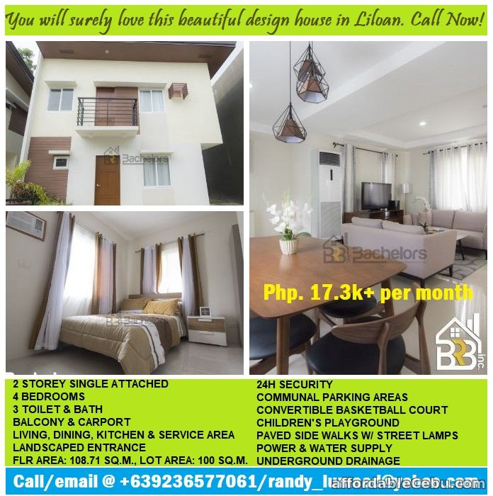 1st picture of Check this lovely 4 bedrooms house in Liloan, minutes away from SM. For Sale in Cebu, Philippines