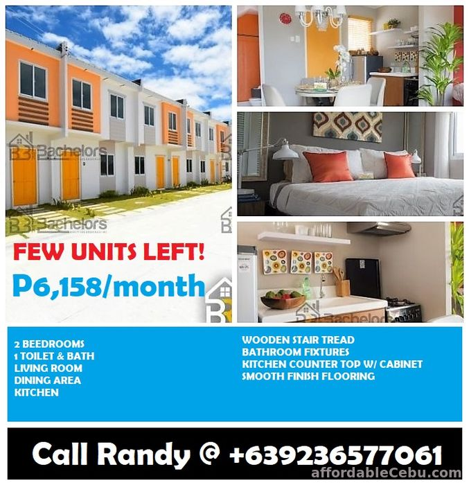 1st picture of Own a house in Compostela for just Php 6,100 per month. For Sale in Cebu, Philippines