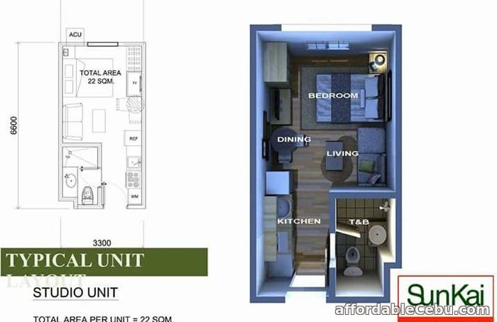 3rd picture of Condo Unit for Sale at Sunvida Tower in Cebu City For Sale in Cebu, Philippines